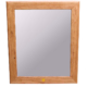 Cherry Mirror Frame - gum line cherry, yellowheart inlay
